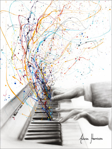 Premium poster The Keyboard Solo