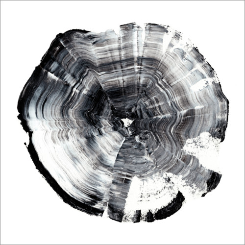 Premium poster Tree Ring Abstract I