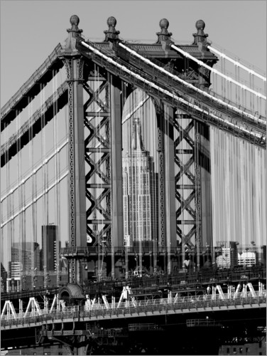 Premium poster Bridges of NYC I
