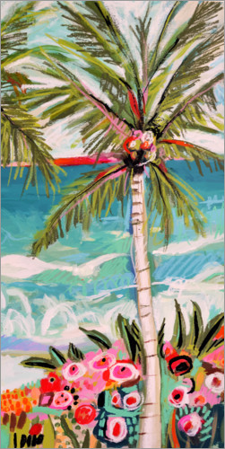 Premium poster Palm Tree Wimsy II