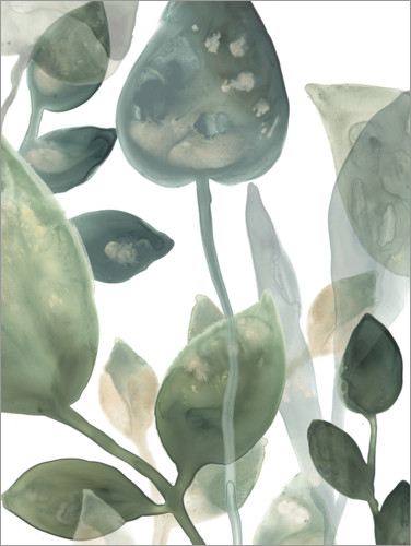 Premium poster Water Leaves I