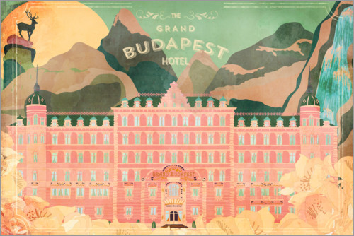 Premium poster The Grand Budapest Hotel