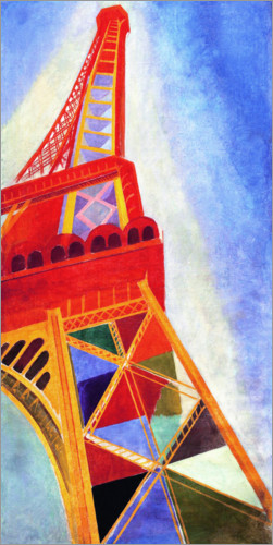 Premium poster The Eiffel Tower