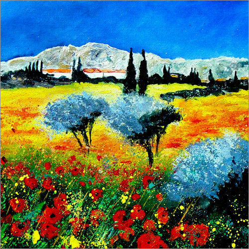 Wall sticker Landscape of Provence