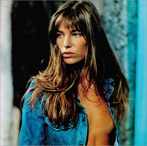 Wall sticker Jane Birkin