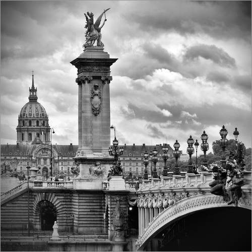 Wall sticker Pont Alexandre III PARIS