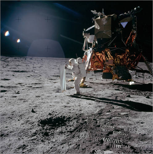 Wall sticker Apollo 11 Moon Walk