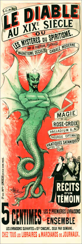Premium poster The Devil in the 19th Century (French)