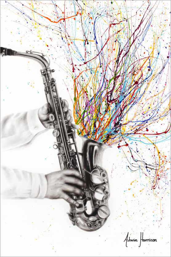 Premium poster The Jazz Saxophone
