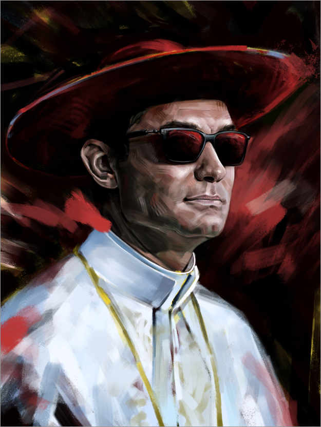 Premium poster The Young Pope