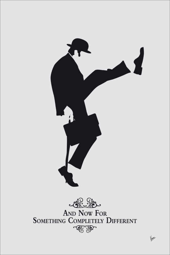 Premium poster Ministry of Silly Walks