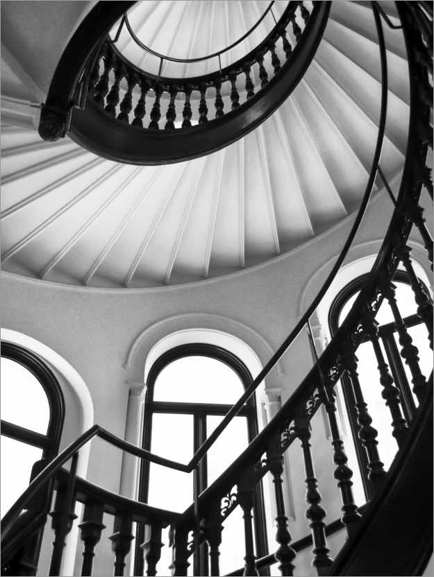 Premium poster Spiral staircase II