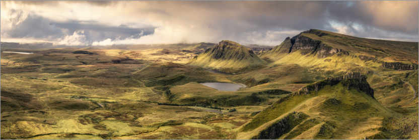 Premium poster The Quiraing outlook