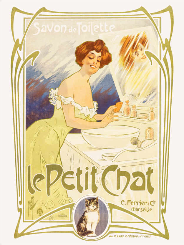 Premium poster Soap from Le Petit Chat