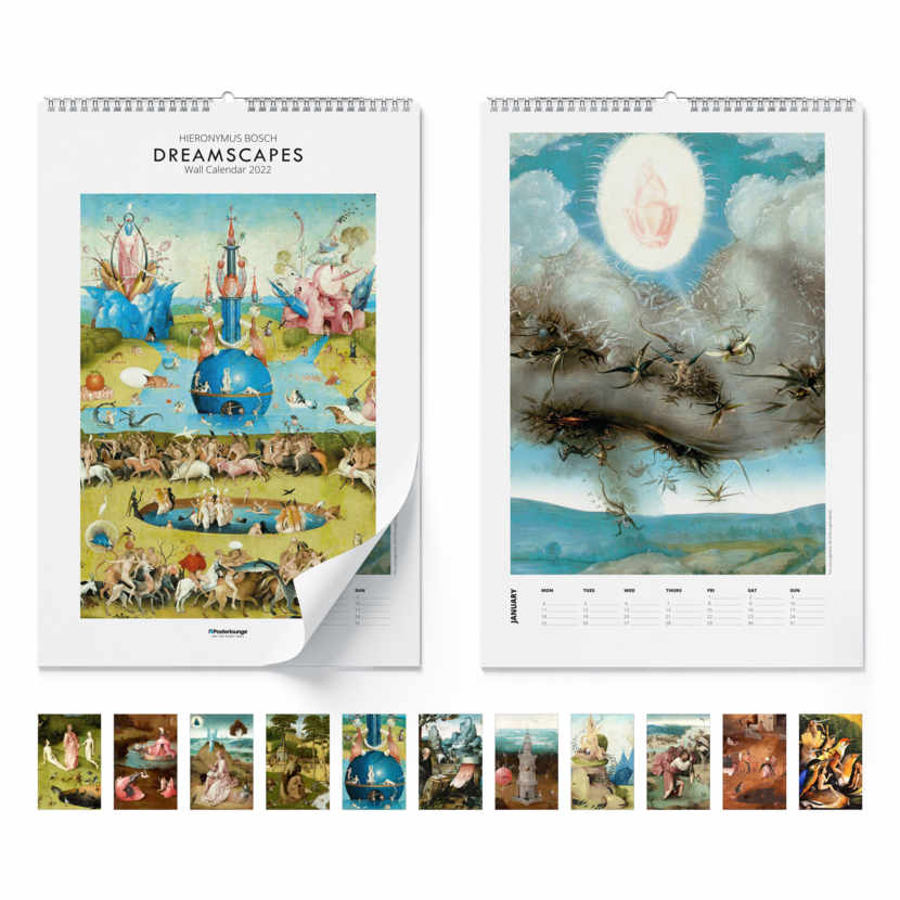 Wall calendar Dreamscapes 2021