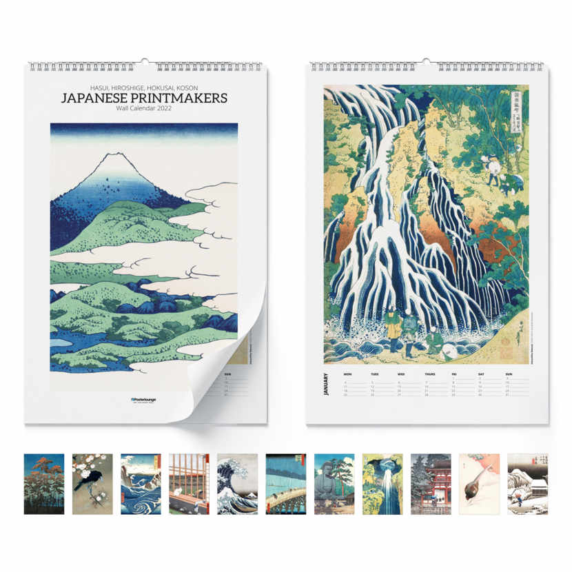 Wall calendar Japanese Printmakers 2021