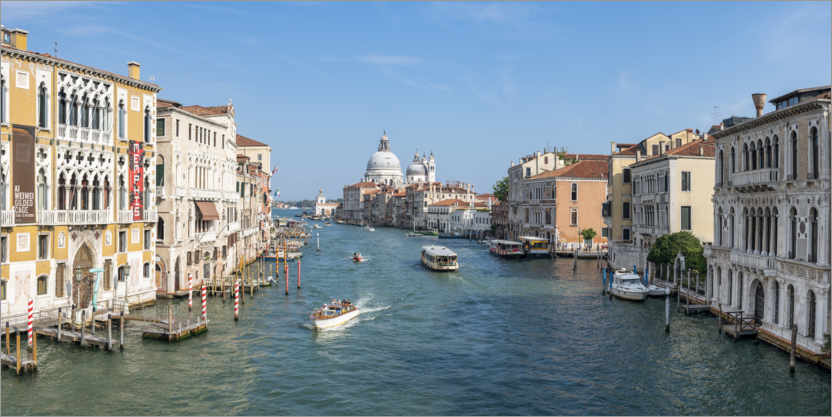 Premium poster Grand Canal in summer