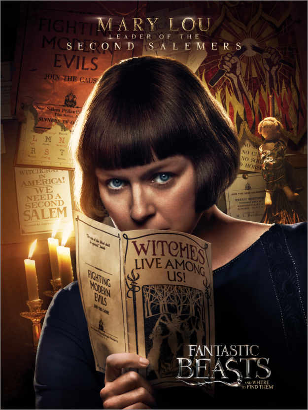 Premium poster Fantastic Beasts and Where to Find Them - Mary Lou Barebone