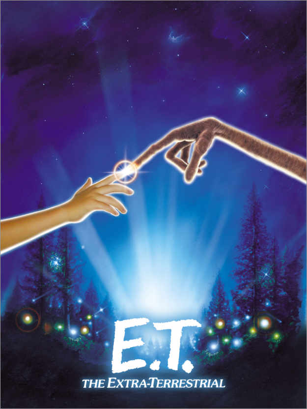 Premium poster E.T. - Encounter of the third kind