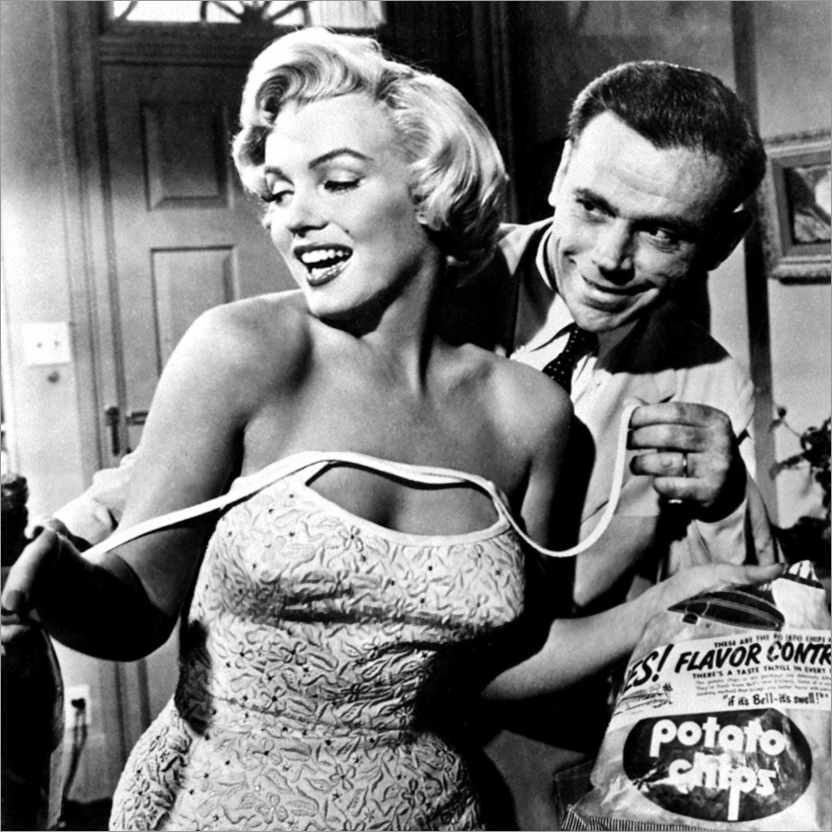 Wall sticker The Seven Year Itch - Potato Chips