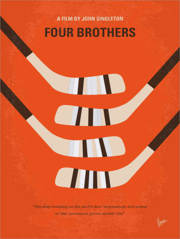 Premium poster Four Brothers