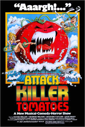 Premium poster Attack of the Killer Tomatoes