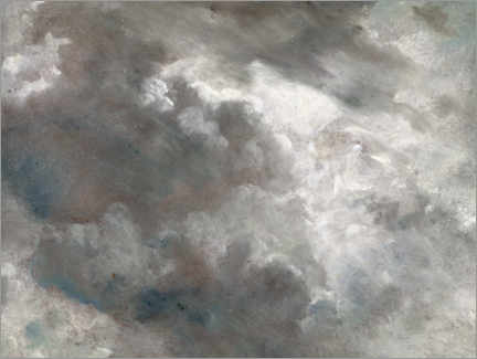 Canvas print  Cloud study - John Constable