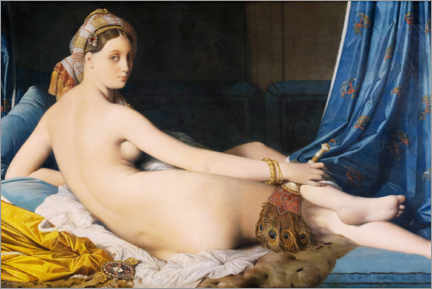 Premium poster The Great Odalisque