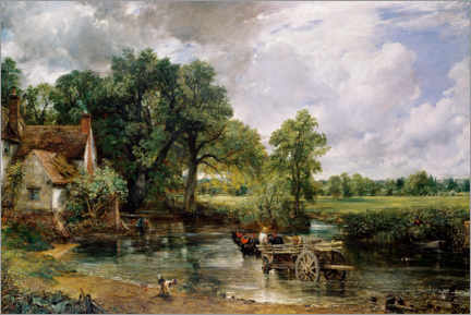 Canvas print  The hay cart - John Constable
