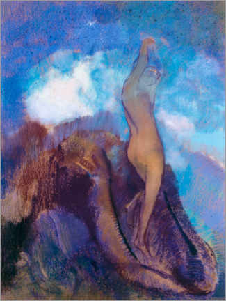 Premium poster  The Birth of Venus - Odilon Redon