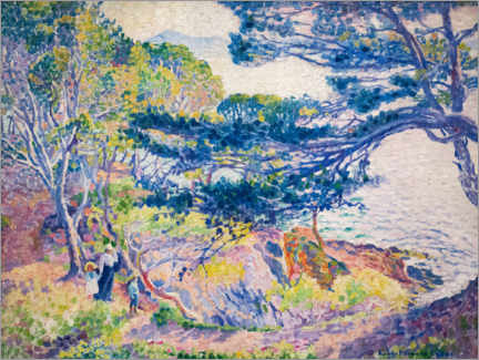 Premium poster  Le cap Layet, petite version - Henri Edmond Cross