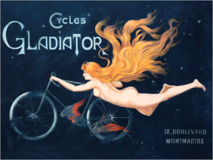 Canvas print  Cycles Gladiator - Georges Massias