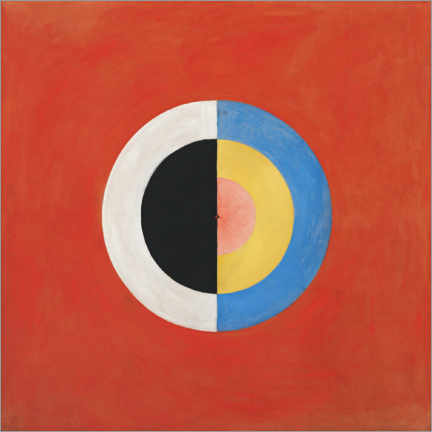 Canvas print  The Swan, No. 17 - Hilma af Klint