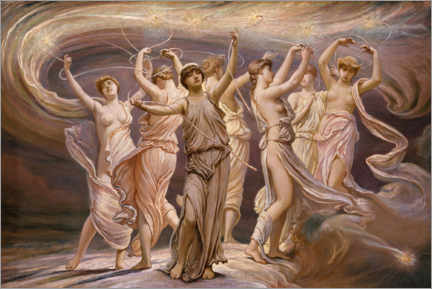 Gallery print  The Pleiades - Elihu Vedder