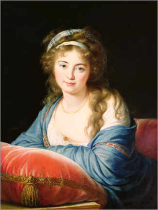 Wall sticker  Countess Catherine Vassilievna Skavronskaia - Elisabeth Louise Vigee-Lebrun