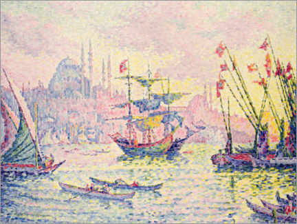 Canvas print  Constantinople - Paul Signac