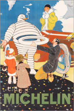Canvas print  Michelin - Rene Vincent