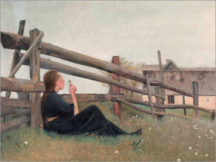 Canvas print  In the Month of June - Laurits Andersen Ring