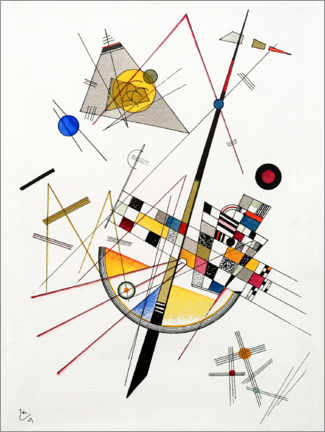 Wall sticker  Mild Tension - Wassily Kandinsky