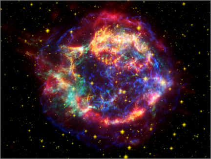 Canvas print  Supernova remnant Cassiopeia A - NASA