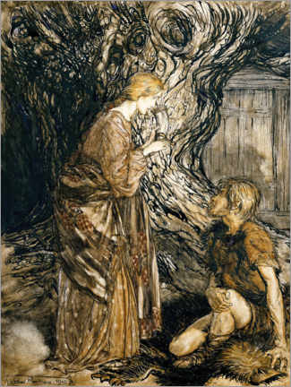 Wall sticker  The Ring of the Nibelung - Arthur Rackham