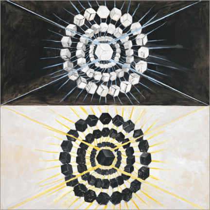 Canvas print  The Swan, No. 8 - Hilma af Klint