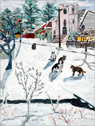 Canvas print  Winter - Deborah Eve Alastra