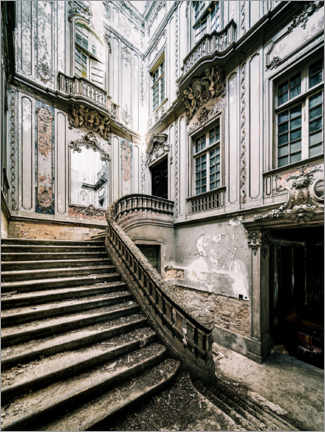 Canvas print  Baroque staircase - Irnmonkey