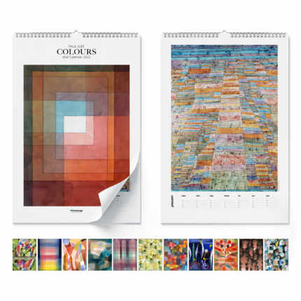 Wall calendar Paul Klee, Colours 2020