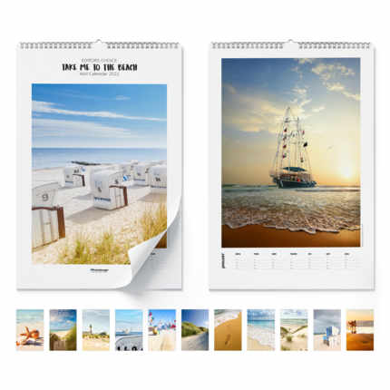 Wall calendar  Take Me To The Beach 2021