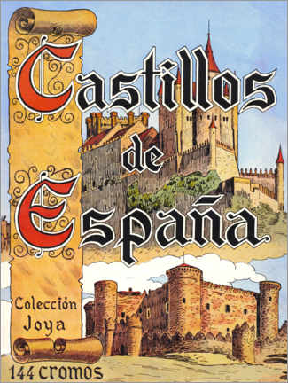 Canvas print  Castles of Spain (Spanish) - Advertising Collection