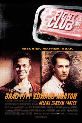 Canvas print  Fight Club - Entertainment Collection