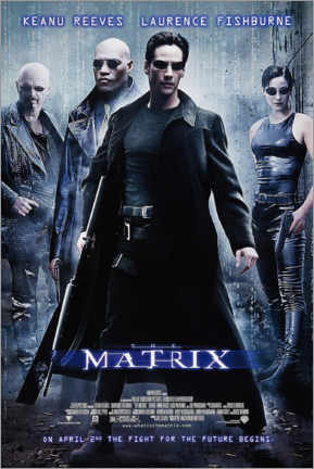 Premium poster The Matrix (English)