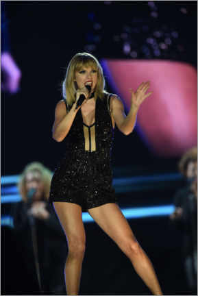 Premium poster Taylor Swift in concert, F1 Circuit of the Americas, Texas 2016